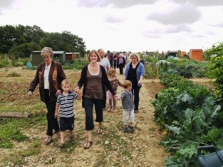 Community Spirit at the allotments