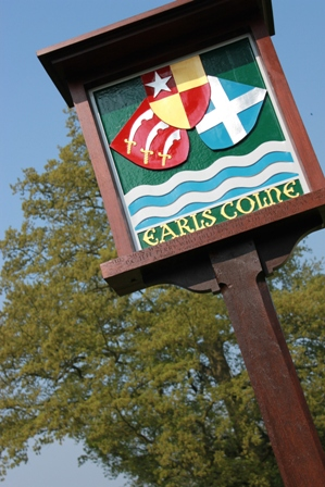 Earls Colne Sign