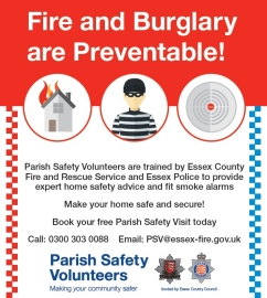 Parish Safety Volunteers Poster